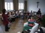 """5.01.2013 Spotkanie opłatkowe scholi """"Magnificat"""" i kółka plastycznego"""